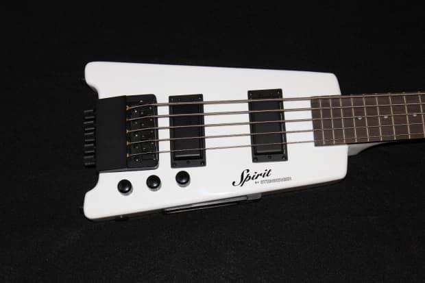 Steinberger Spirit Xt 25 5 String White Electric Bass