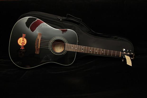 Hard Rock Cafe Fender Acoustic Guitar