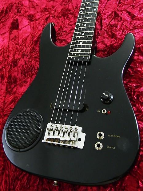Synsonics Electric Guitar With Built In Amp : synsonics vintage 1988 built in amp travel guitar black body reverb ~ Russianpoet.info Haus und Dekorationen