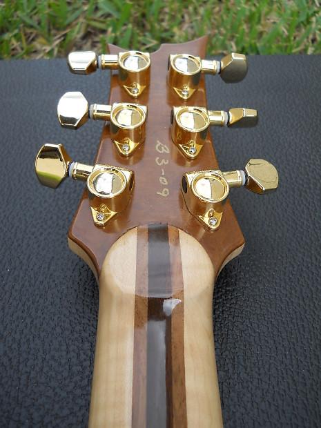 Mint  Phiga Usa Lightning Bolt Jerry Garcia Tribute Guitar