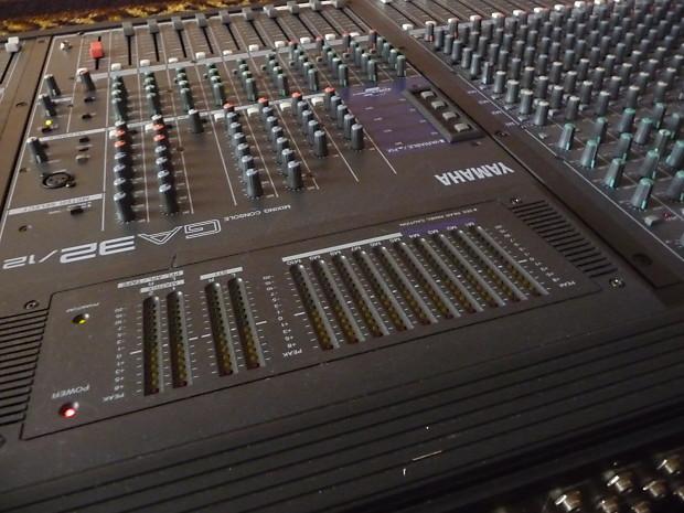 Yamaha yamaha ga32 12 sound reinforcement pa recording for Yamaha sound console