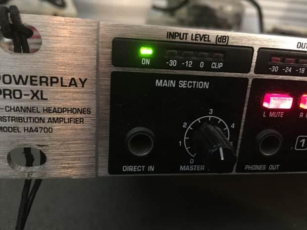 behringer powerplay pro xl manual