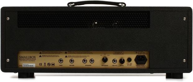 friedman smallbox 50w guitar amplifier head reverb. Black Bedroom Furniture Sets. Home Design Ideas