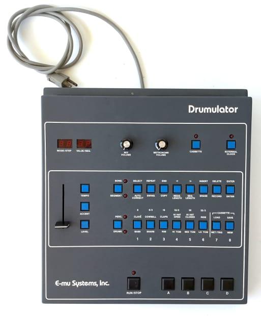 1 emu e mu drumulator drum machine for parts as is emulator reverb. Black Bedroom Furniture Sets. Home Design Ideas