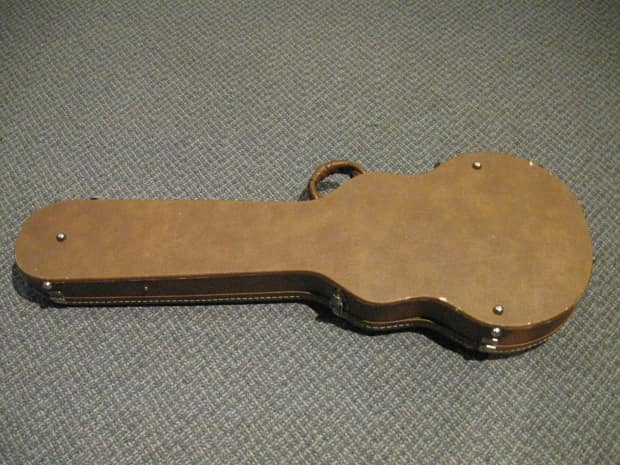 Gibson Usa Les Paul Hardshell Case W Pink Lining 19989