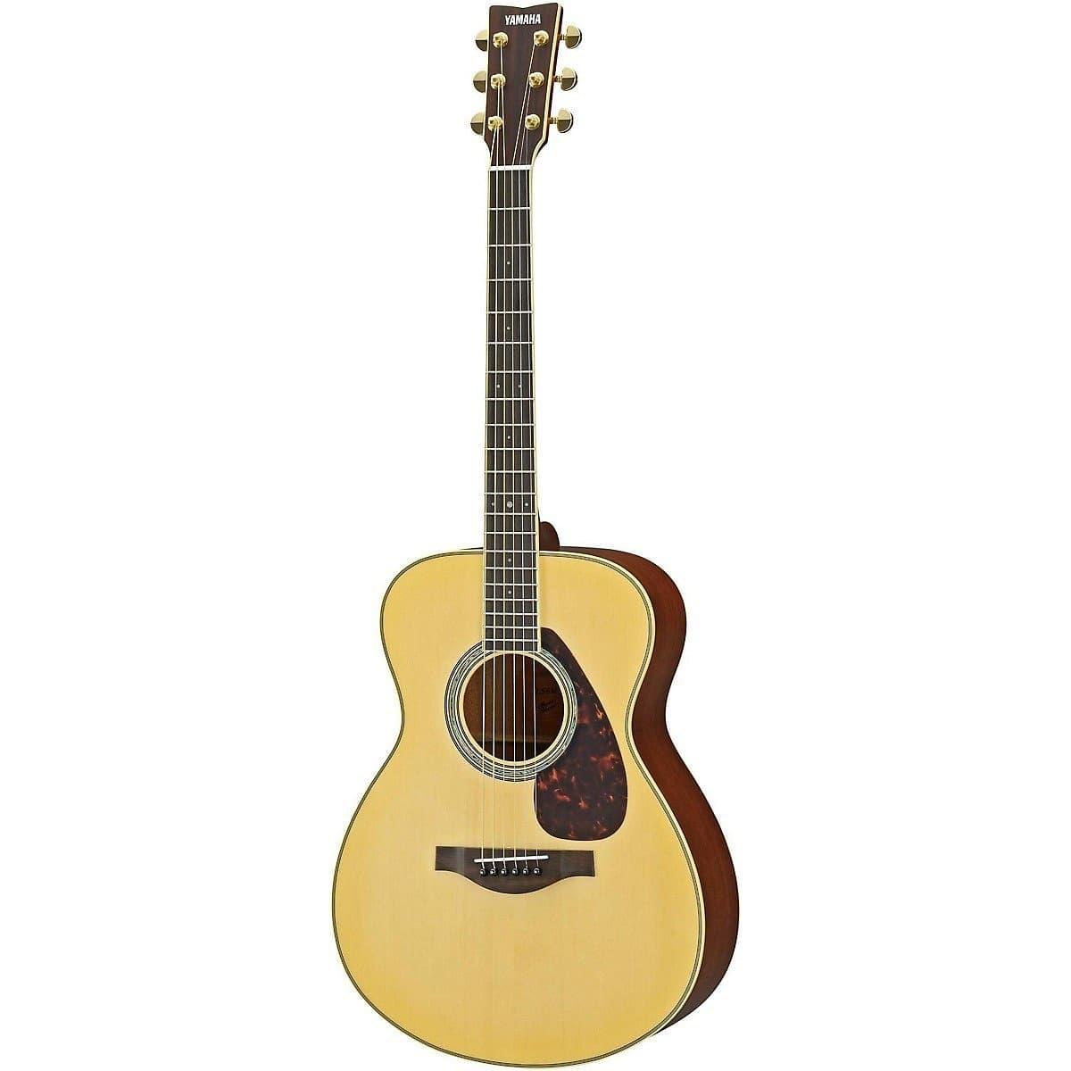 Yamaha ls6m l series folk symphony acoustic electric for Yamaha acoustic electric guitar
