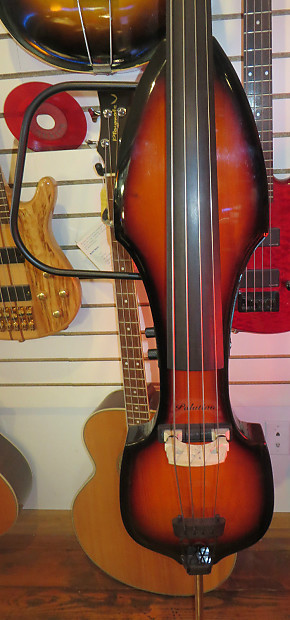 near mint palatino ve 500 electric upright bass stand up bass reverb. Black Bedroom Furniture Sets. Home Design Ideas