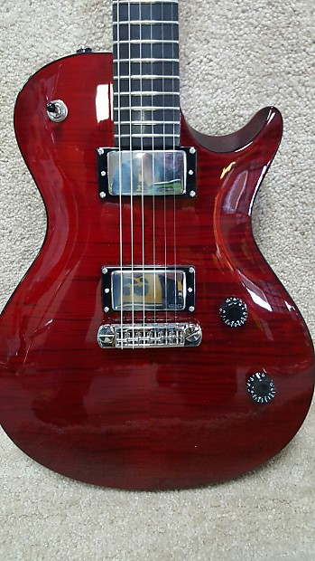 prs se nick catanese red flame top reverb. Black Bedroom Furniture Sets. Home Design Ideas