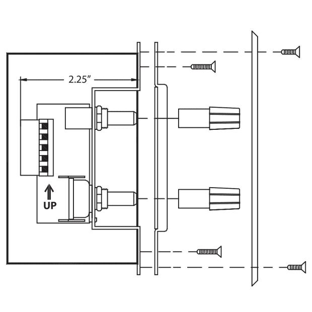rane zr 1 zone source volume wired remote for rane reverb