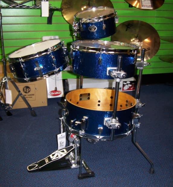 tama drums set silverstar cocktail jam drum kit with bags reverb. Black Bedroom Furniture Sets. Home Design Ideas