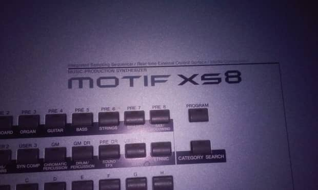 Yamaha motif xs8 excellent condition reverb for Yamaha motif xs8 specs