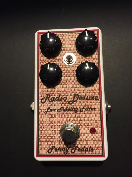 Penny Pedals Radio Deluxe Lo Fi Filter 2014 Reverb