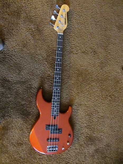 Yamaha bb 450 1980 39 s electric 4 string bass p j pickups for Yamaha bb bass