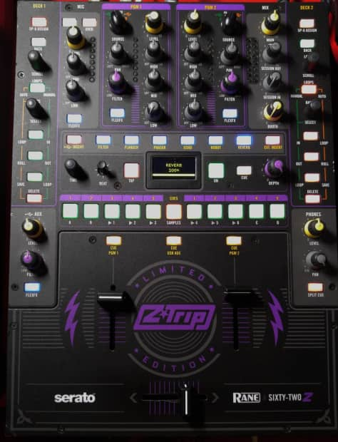Rane Sixty Two Z Rane 62 Ztrip Limited Edition Dj Club