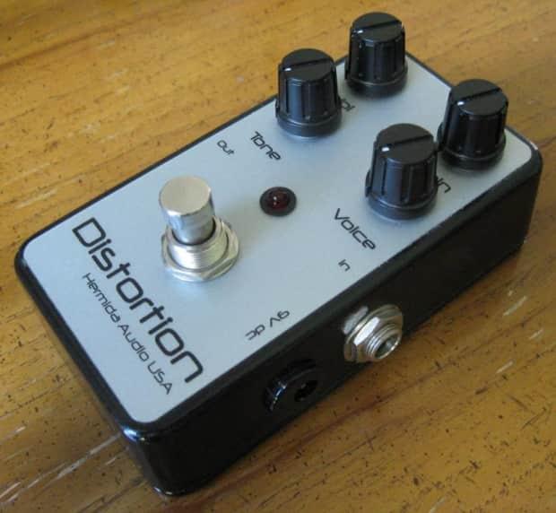 Hermida Audio Distortion guitar FX pedal Zendrive ...