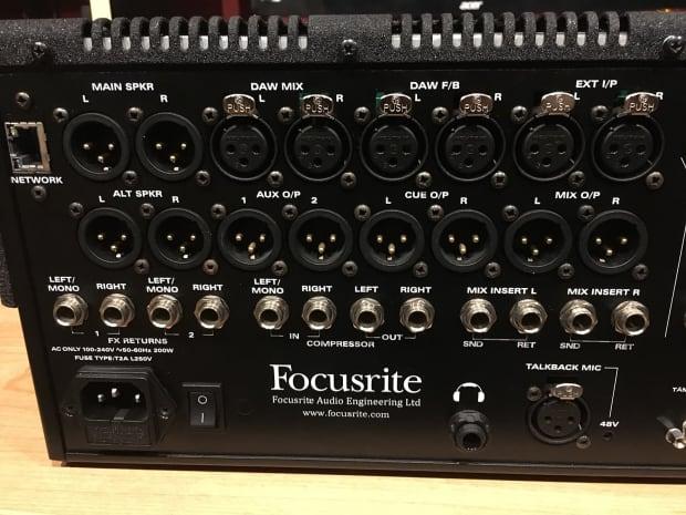 focusrite control 2802 mixer daw controller reverb. Black Bedroom Furniture Sets. Home Design Ideas
