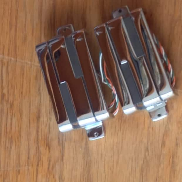 Lace Music Alumitone Humbucker Pickups Chrome  1 Pair