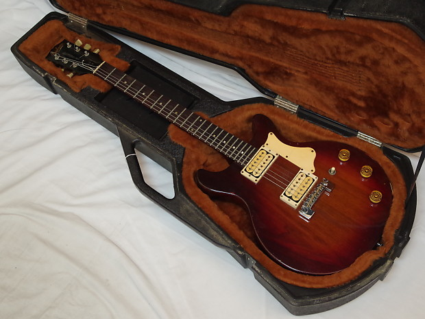 epiphone dc electric guitar used gibson case made in reverb. Black Bedroom Furniture Sets. Home Design Ideas