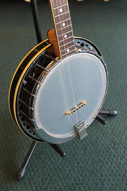 Fender Allegro 1088 5-string Banjo 60's-70's 3 Tone ...