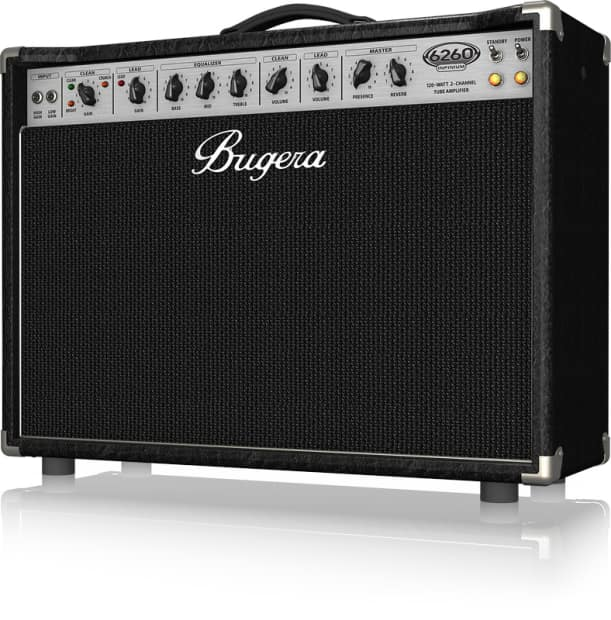 bugera 6260 212 infinium 120w 2 channel valve combo with reverb. Black Bedroom Furniture Sets. Home Design Ideas