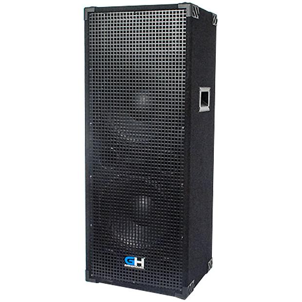 1000w dual 12 inch passive full range pa speaker home dj reverb. Black Bedroom Furniture Sets. Home Design Ideas