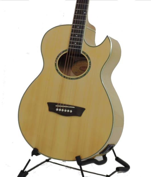 washburn ea20 acoustic electric guitar 311656316 natrual reverb. Black Bedroom Furniture Sets. Home Design Ideas