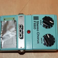 DOD Stereo Chorus FX60 1980s Made in USA image