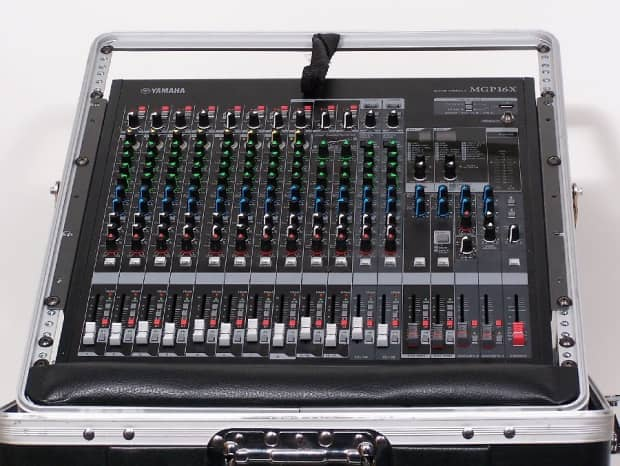 Yamaha mgp series mgp16x 16 channel 4 bus mixer w rolling for Yamaha 16 channel mixer mg16 4