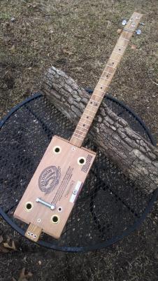 Padron 3 String Cigar Box Guitar image