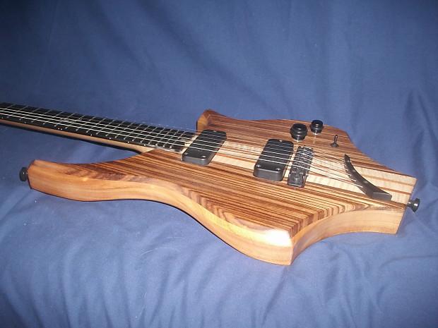 odyssey ken lindemere custom guitar zebrano wood bartolini reverb. Black Bedroom Furniture Sets. Home Design Ideas