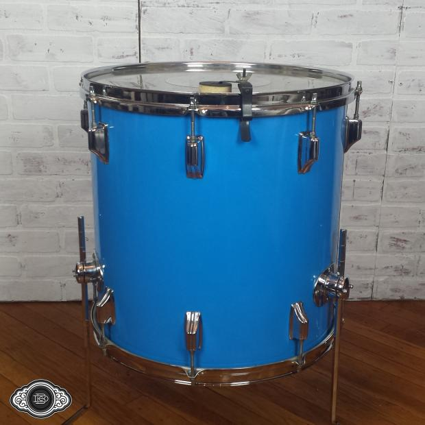 Rogers early 70s big r 16x16 vintage floor tom with for 16x16 floor tom