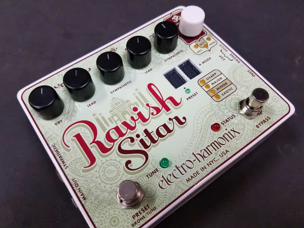 the ravish sitar synthesizer guitar effects pedal reverb. Black Bedroom Furniture Sets. Home Design Ideas