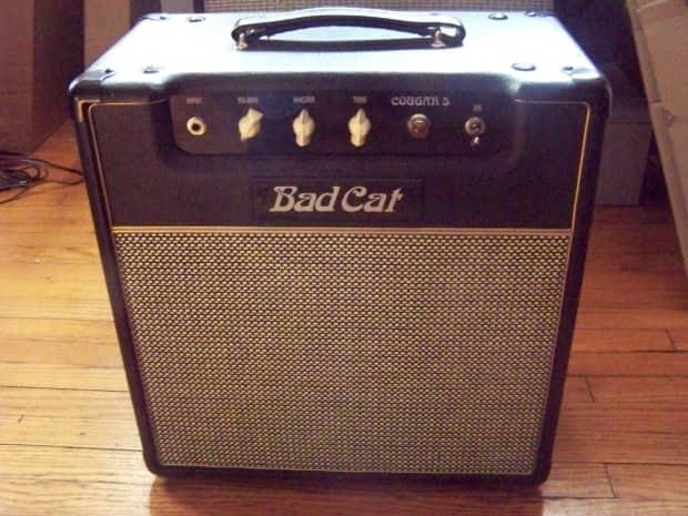 bad cat cougar 5 5 watt class a tube guitar combo amp reverb. Black Bedroom Furniture Sets. Home Design Ideas