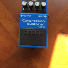 Boss CS-3 Compression Sustainer 2010 Blue/White image