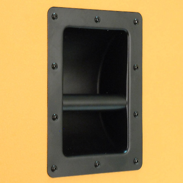 EMPTY GUITAR SPEAKER CABINET 2x12 Cab 212 Orange Tolex Reverb