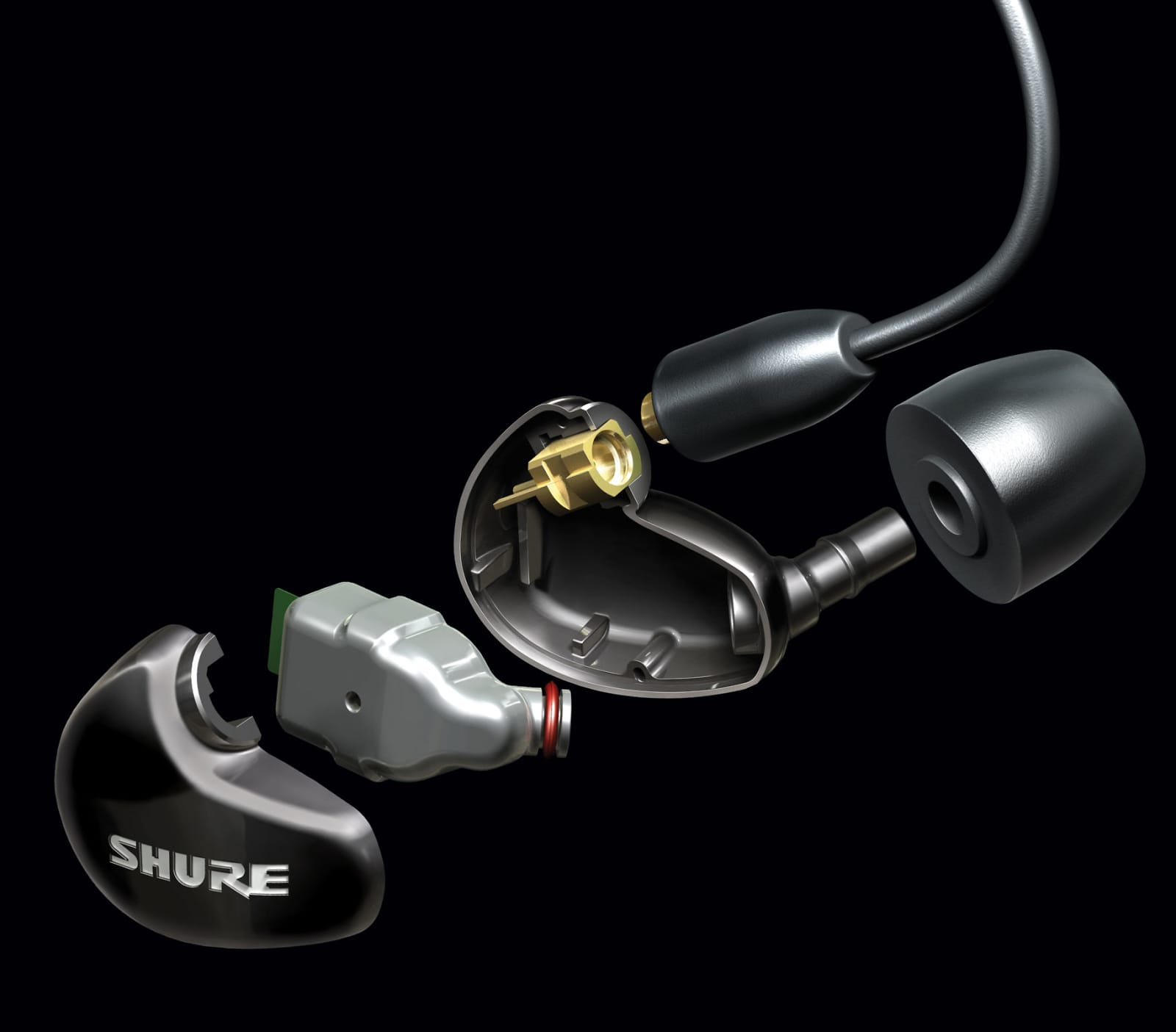Shure SE315-CL Sound Isolating Earphones with High-Definition MicroDriver + Tuned BassPort