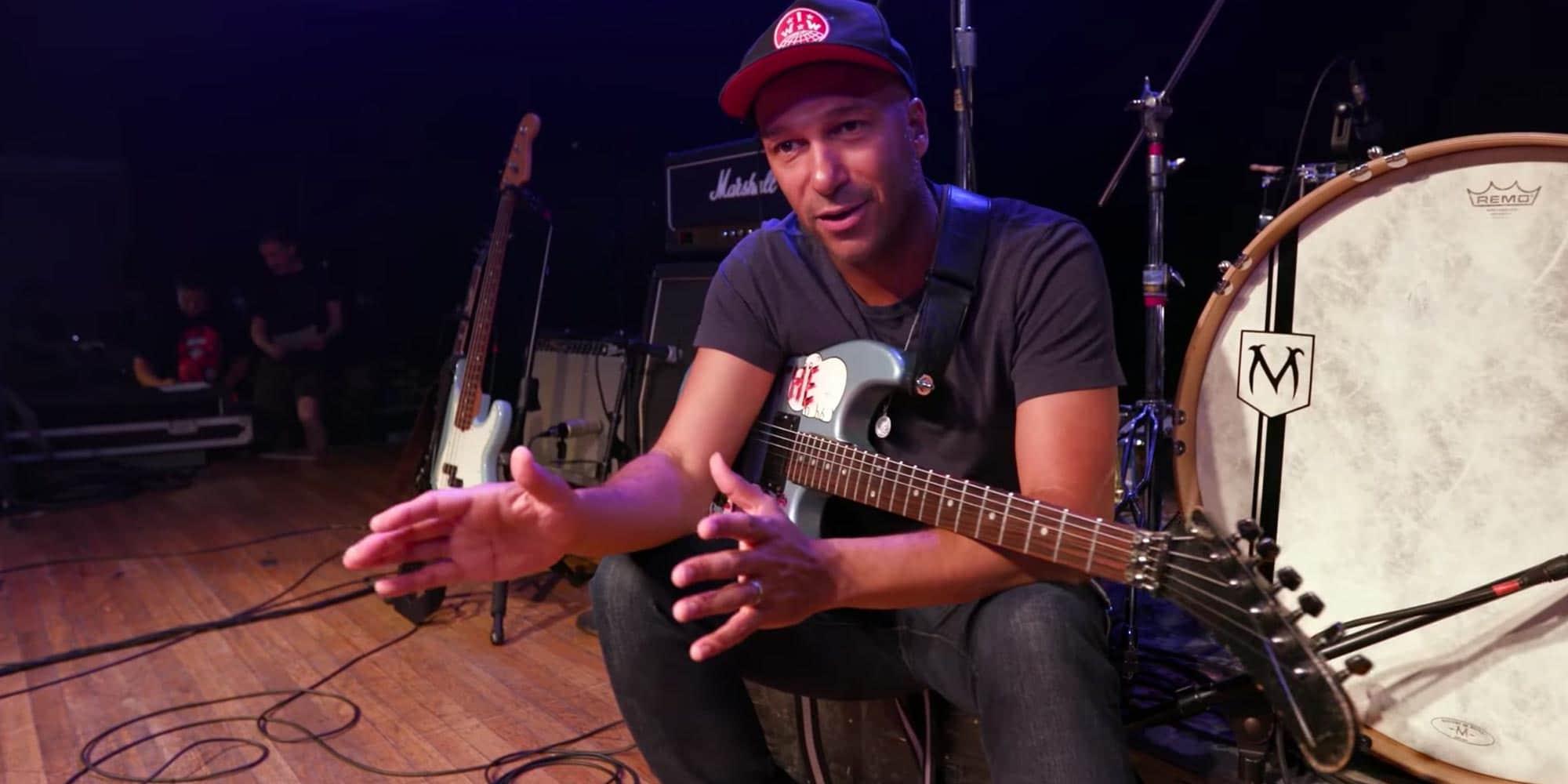 Tom Morello Gear Guitar Wiring Diagram Thinks Doesnt Matter Reverb