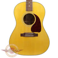 <p>Used Gibson LG-2 American Eagle Acoustic Electric Guitar in Antique Natural</p>  for sale