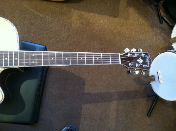 washburn wd25sce acoustic electric guitar reverb. Black Bedroom Furniture Sets. Home Design Ideas