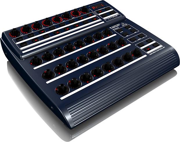 refurbished behringer b control rotary bcr2000 total recall reverb. Black Bedroom Furniture Sets. Home Design Ideas
