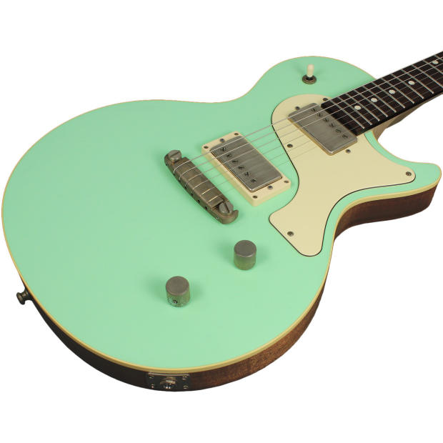 nik huber krautster ii guitar surf green cream reverb. Black Bedroom Furniture Sets. Home Design Ideas