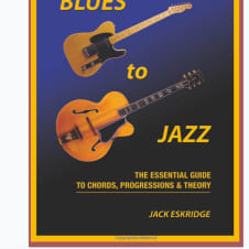 Hal Leonard Blues to Jazz: The Essential Guide to Chords, Progression & Theory image