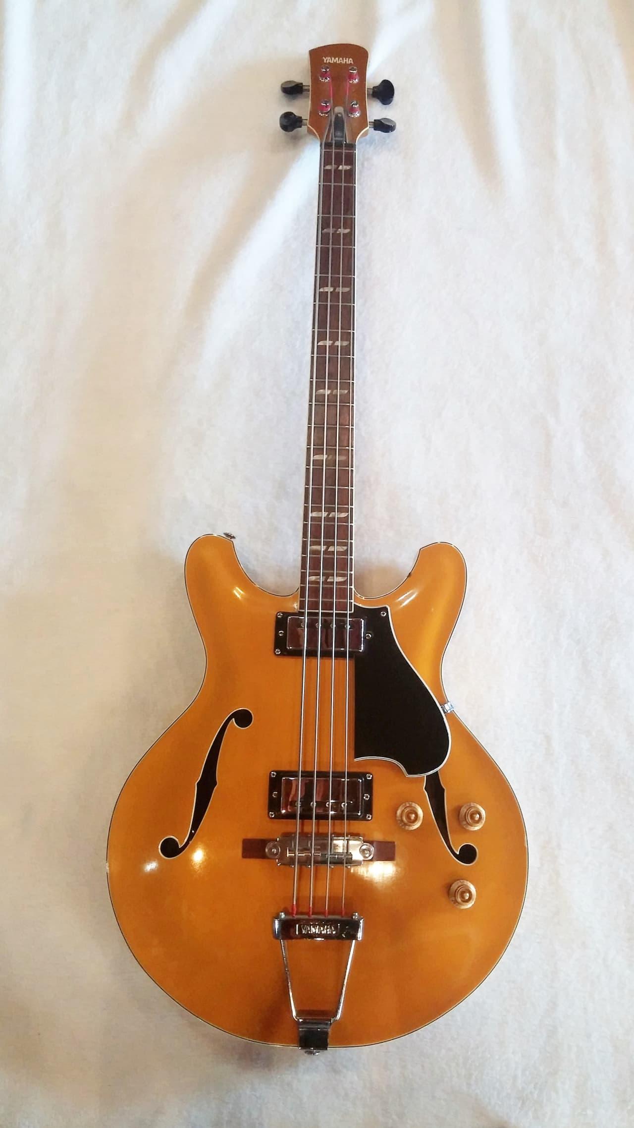 Yamaha sa 70 bass guitar 1972 gold reverb for Yamaha bass guitars