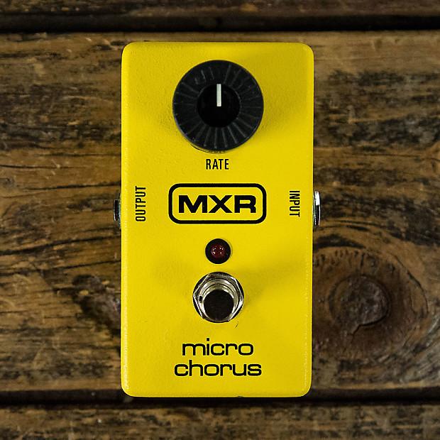 mxr micro chorus pedal reverb. Black Bedroom Furniture Sets. Home Design Ideas