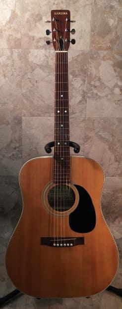 Road Runner Auto Sales >> Vintage 1971 Sakura SW 63 Acoustic Guitar and Case MIJ | Reverb