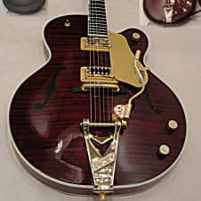 Gretsch G6122-1959 Chet Atkins Country Gentleman W FLAMED MAPLE BODY W CASE 2012 Gloss Mahogany image