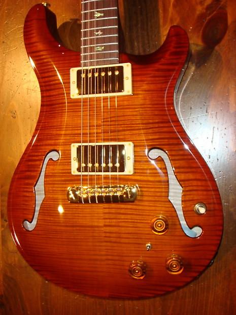 prs hollowbody ii 2006 violin amber burst artist reverb. Black Bedroom Furniture Sets. Home Design Ideas
