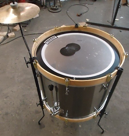2 cool percussion bass drum to floor tom leg kit with cymbal reverb. Black Bedroom Furniture Sets. Home Design Ideas