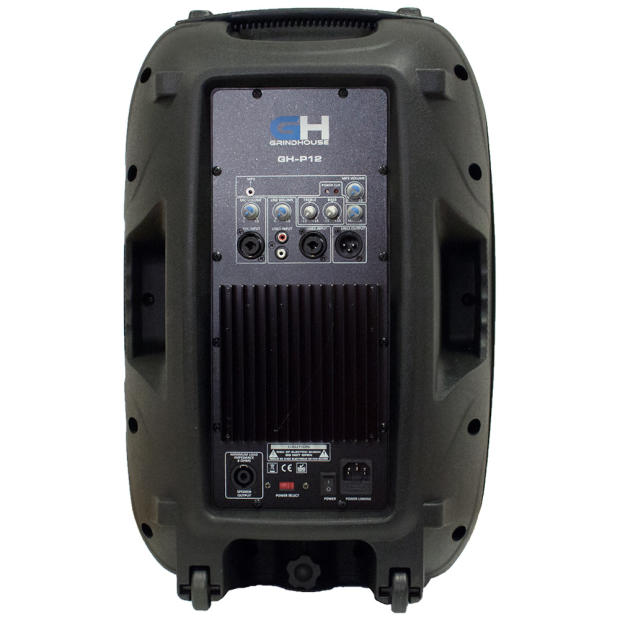 1000w inch active powered full range pa speaker home dj karaoke church portable indoor outdoor. Black Bedroom Furniture Sets. Home Design Ideas