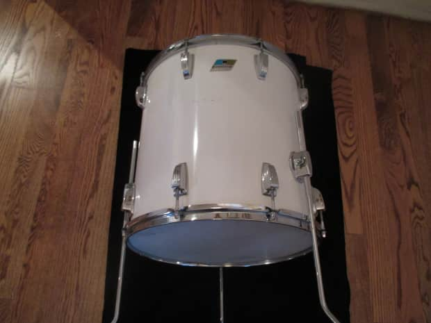 Ludwig vintage 16 x 16 floor tom early 1970s b o badge for 16 x 16 floor tom